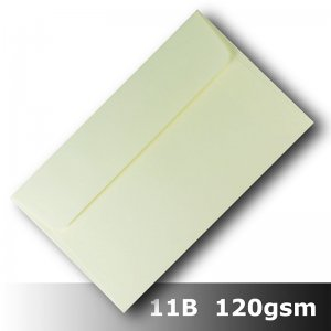 #H8478 - Smooth Ivory Envelope 120gsm 11B Size WLnS
