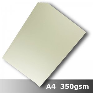 #H8508 - Smooth Finish Card Ivory 350gsm A4 Size