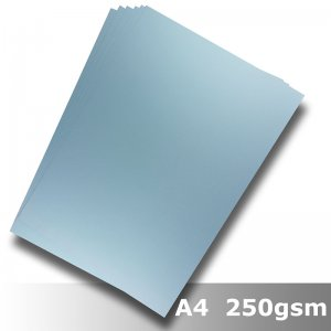 #H2108 - Economy Card Light Blue 250gsm A4 Size