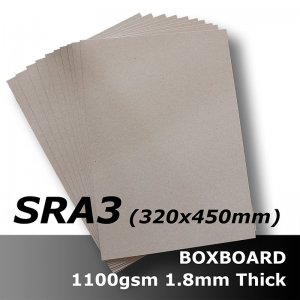 B1669 BoxBoard 1100gsm/1800ums SRA3 Card (Oversize A3)