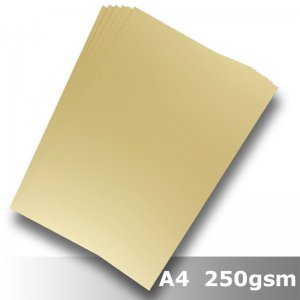 #H2208 - Economy Card Buff 250gsm A4 Size