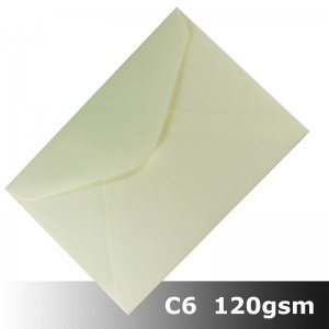 #H8471 - Smooth Ivory Envelope 120gsm C6 Size BLnS