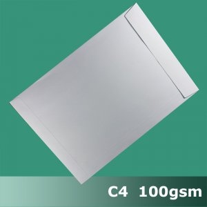 E75CA - C4 (229 x 324mm) White Envelope 100gsm PPnS
