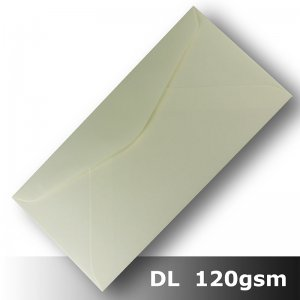 #H8473 - Smooth Ivory Envelope 120gsm DL Size BLnS