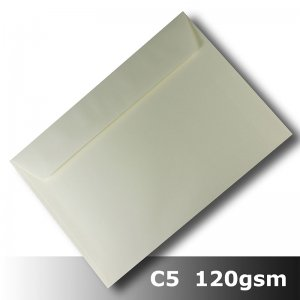 #H8472 - Smooth Ivory Envelope 120gsm C5 Size WLnS