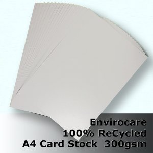 #S3208 - EnviroCare 100% ReCycled White Card A4 300gsm